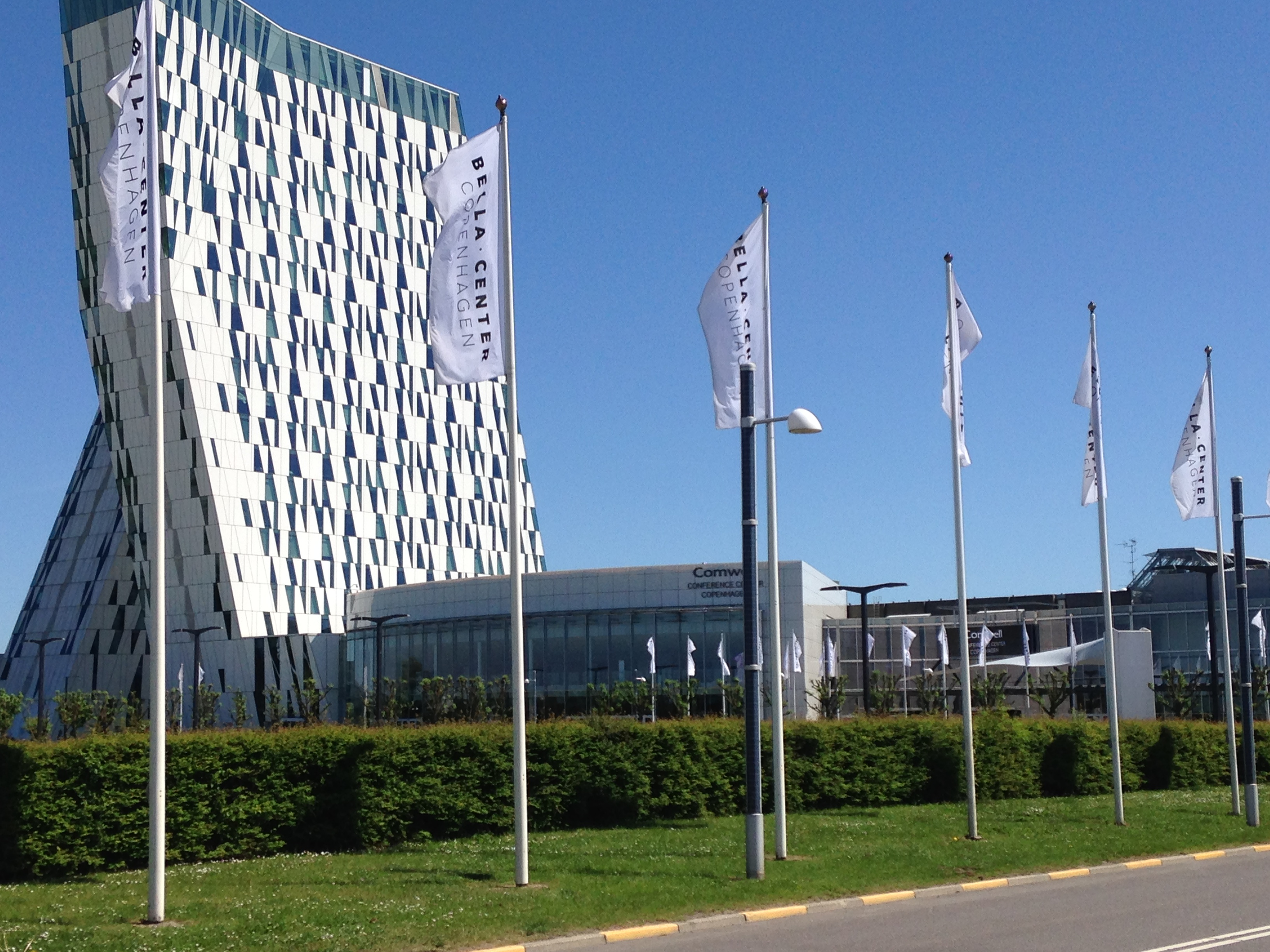 Venue of ESHG 2017: Bella Center in Copenhagen